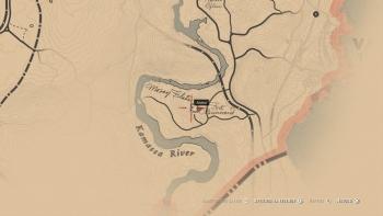 Emplacement couteau et chapeau de la guerre de Sécession, Red Dead Redemption 2, soluce, map, xbox one, ps4, objets cachés, rockstar games