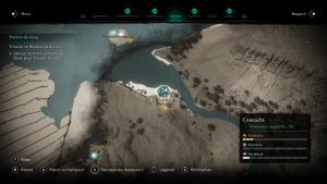 Assassin Creed Valhalla, la colère des druides enfant du danu soluce guide niamh poetesse indice emplacement location cart