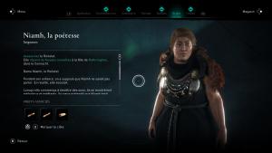 Assassin Creed Valhalla, la colère des druides enfant du danu soluce guide niamh poetesse indice emplacement location carte