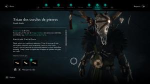 Assassin Creed Valhalla, la colère des druides enfant du danu soluce guide Trian des cercles de pierre, La brume indice emplacement location cart