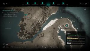 Assassin Creed Valhalla, la colère des druides enfant du danu soluce guide ,becc mac nath i de ocean la semence , indice emplacement location cart