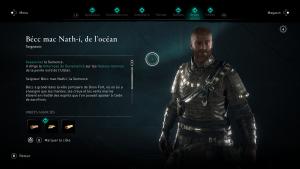 Assassin Creed Valhalla, la colère des druides enfant du danu soluce guide ,becc mac nath i de ocean la semence , indice emplacement location carte