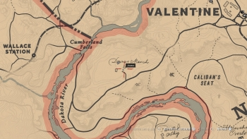 "Emplacement livre ""Héros du far West"", Red Dead Redemption 2, soluce, map, xbox one, ps4, objets cachés, rockstar games"
