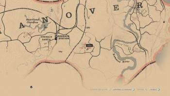 Emplacement livre otis miller et la dame au coeur noir, Red Dead Redemption 2, soluce, map, xbox one, ps4, objets cachés, rockstar games