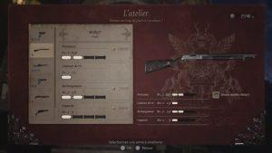 resident evil 8 village, fusil M1897, emplacement de toute les arme et accessoires du jeu, soluce, astuce, guide, re 8 , pc, ps5