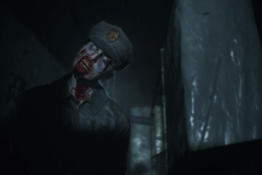resident evil 2 screenshot gameplay image video e3 2018 leon kennedy new remake claire redfield racoon city zombie gore survival horror retro