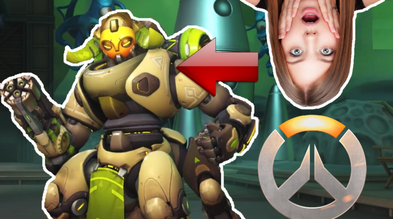 Overwatch Orisa Gameplay