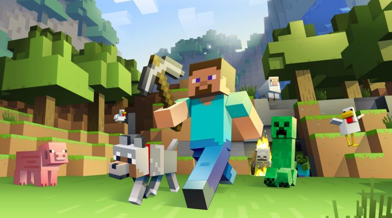 Minecraft switch mario nintendo sandbox