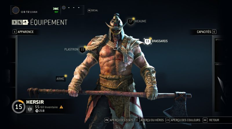 Assassin's Creed For Honor 2017