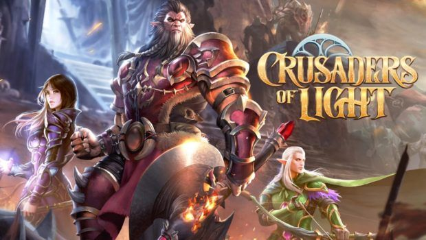 Crusaders Of light mobile Ios android free to play free gratuit