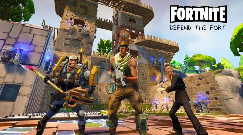 Fortnite epic games survival sandbox thirs person games jeuxvideo jeu