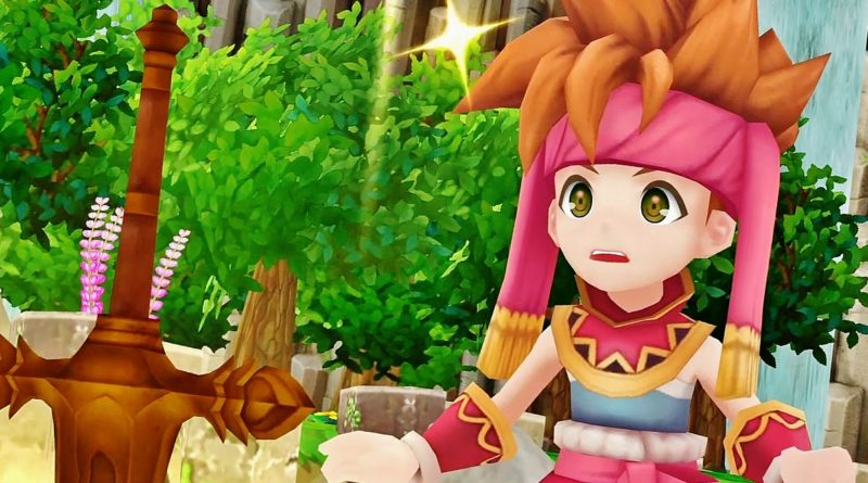 SECRET OF MANA 3D REMASTERED COVER