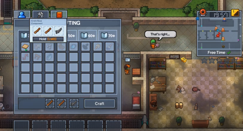 The escapists 2 center perks 2.0 - Soluces, astuces, trophéesThe escapists 2 center perks 2.0 - Soluces, astuces, trophées