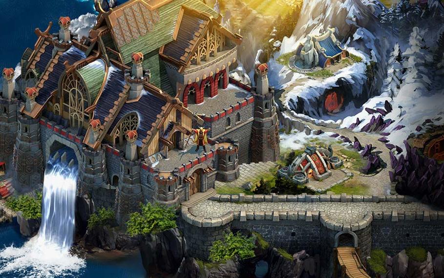 viking war of clan, jeux vidéo,