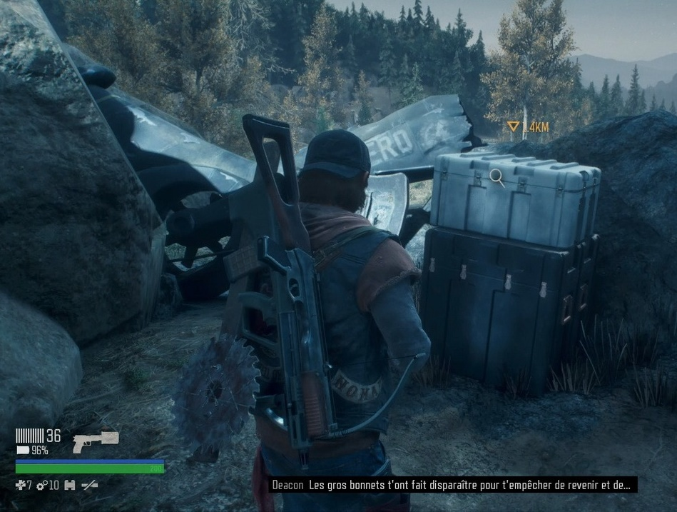 days gone soluce, emplacement injecteur de nero, carte du nero, astuce, checkpoint nero camp