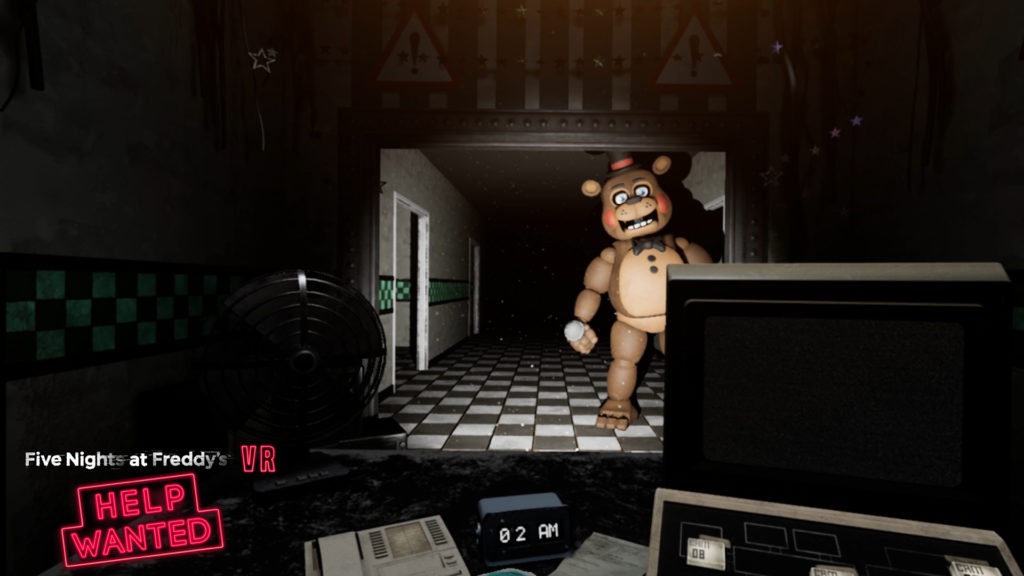 five nights at freddy 2 vr soluce fnaf 2 psvr htv occulus ps4