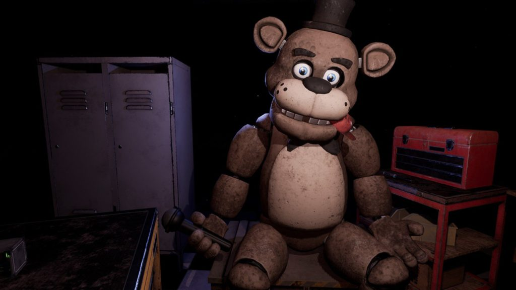Five Nights At Freddy's VR soluce fr parts and service