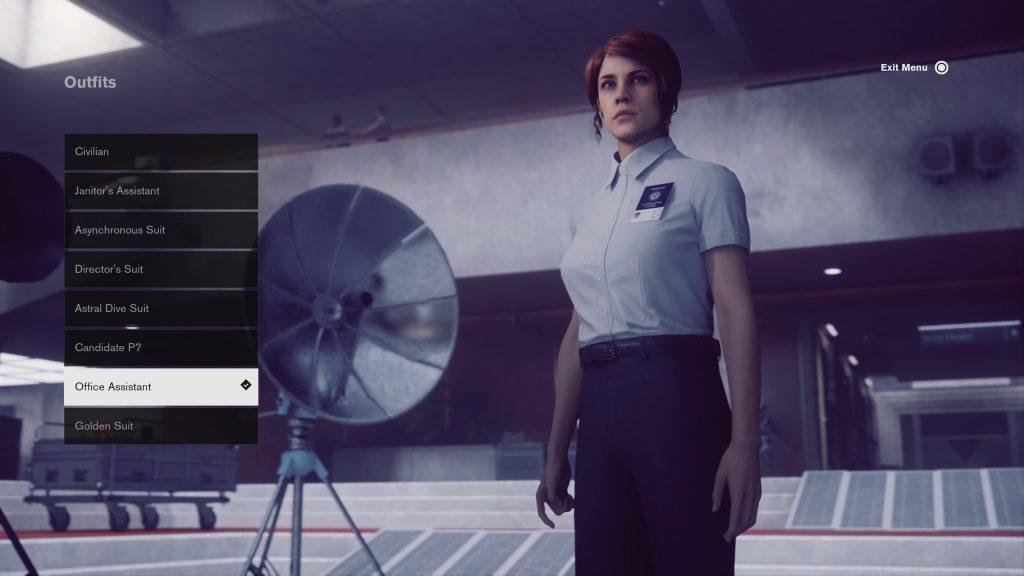 control soluce toutes les tenues assistante bureau