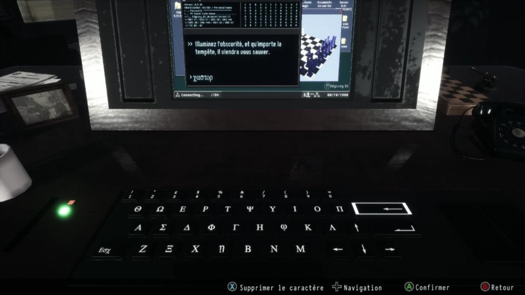 daymare 1998 soluce laboratoire enigme 5