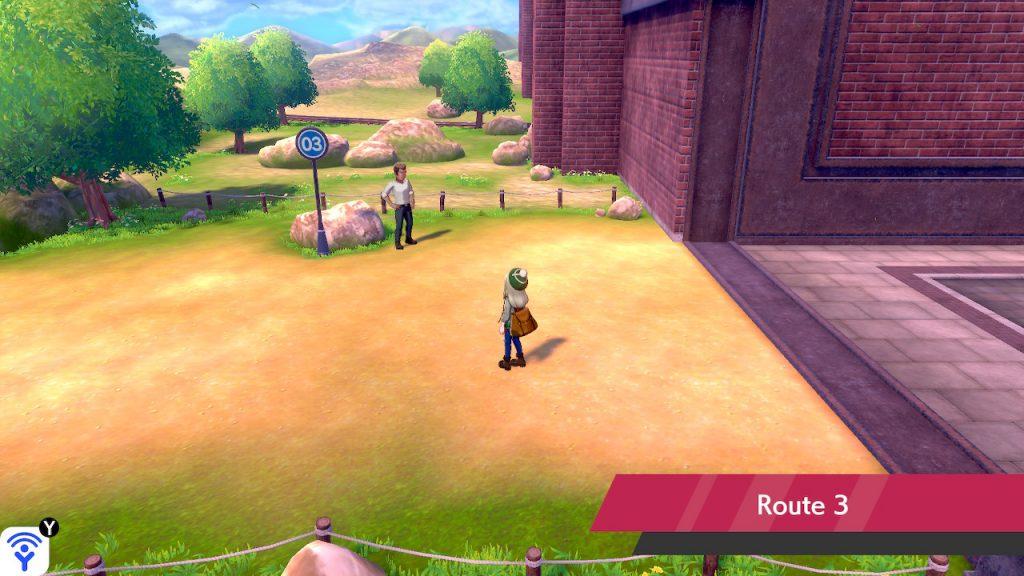 Solution pokémon épée et bouclier route 3 emplacement