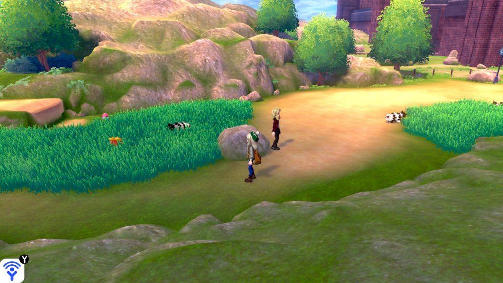 Solution pokémon épée et bouclier route 3 emplacement objet soin ball