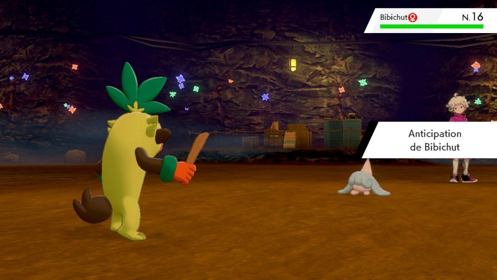 Solution pokemon épée et bouclier, mine de galar emplacement Travis le dresseur