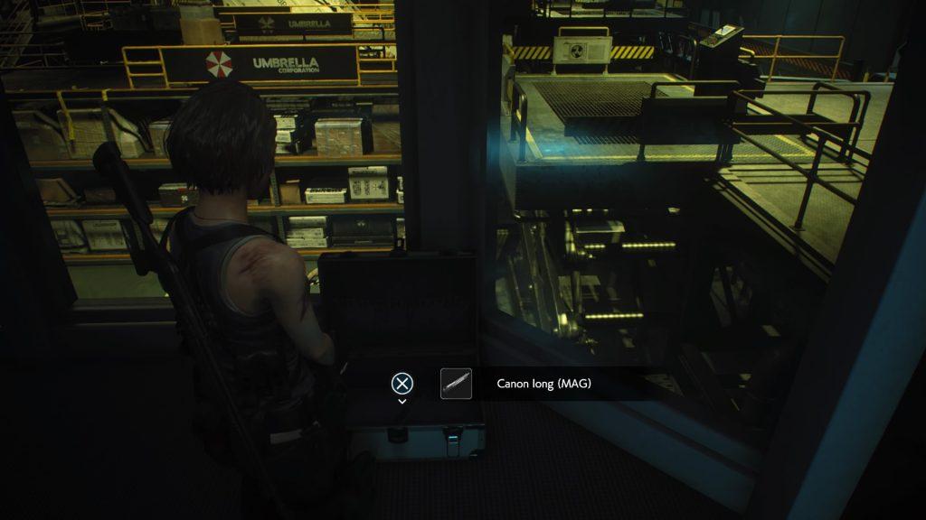 resident evil 3 remake, soluce et guide des arme, canon long lightning hawk magnum emplacement