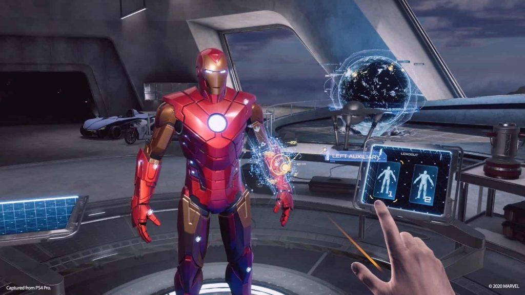 test marvel iron man vr playstation 4