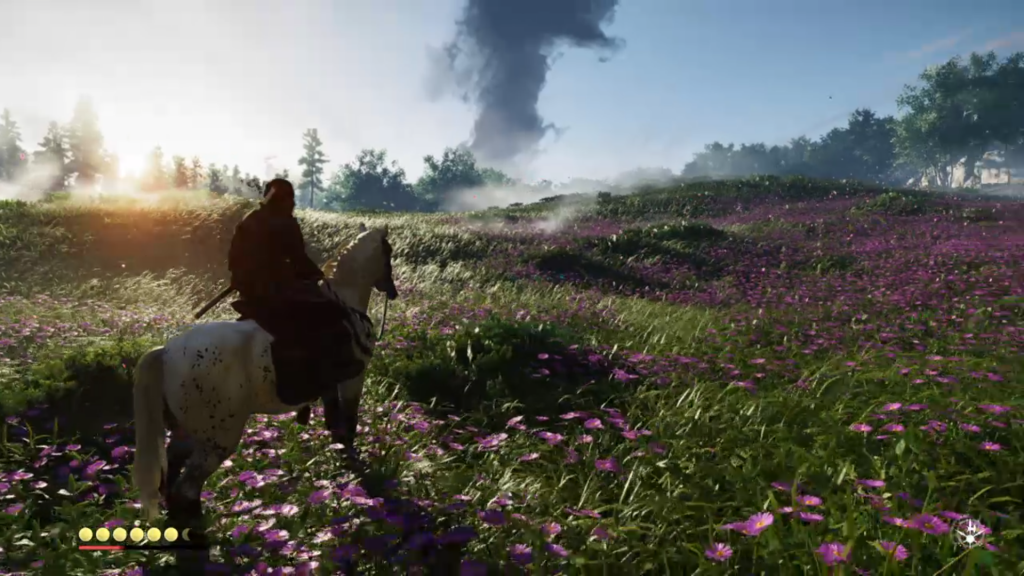 ghost of tsushima test gameactuality fr playstation 4