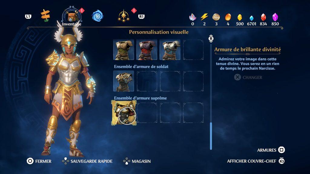 immortals fenyx rising soluce astuce emplacement des armures suprême guide fr