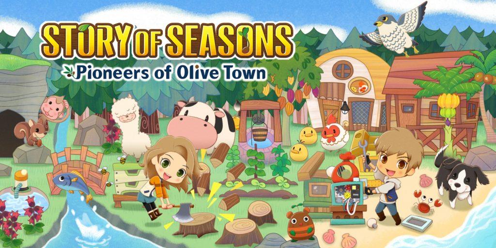 sortie jeu vidéo mars 2021 console pc ps4 ps5 xbox one série switch stadia plateforme éditeur genre story of seasons pioneers of olive town date de sortie, synopsis