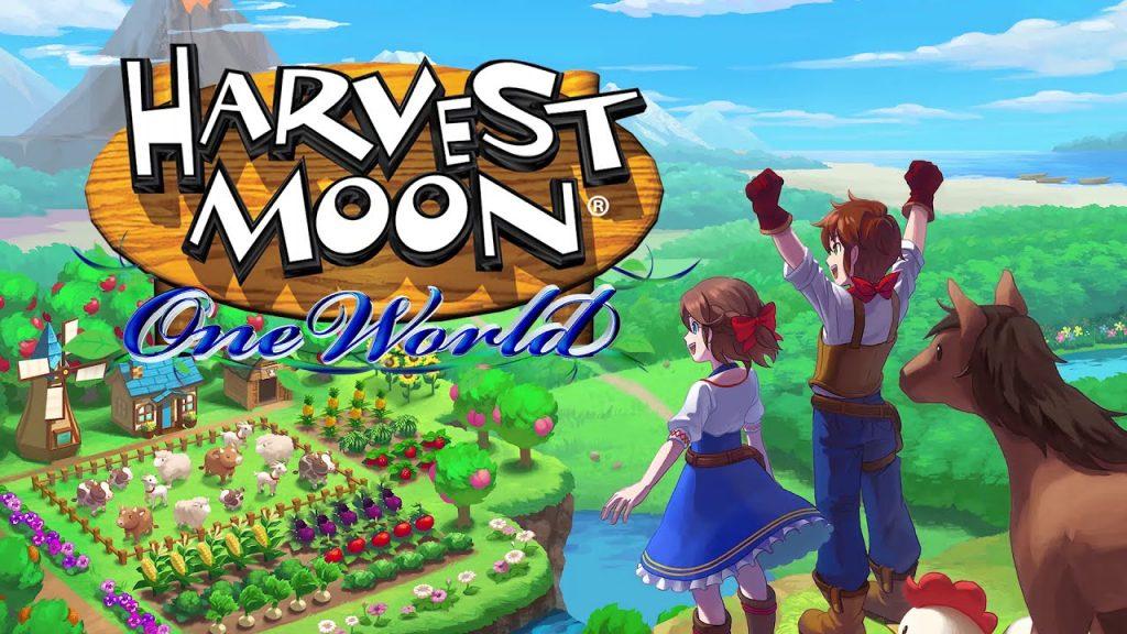 sortie jeu vidéo mars 2021 console pc ps4 ps5 xbox one série switch stadia plateforme éditeur genre harvest moon one world date de sortie, synopsis