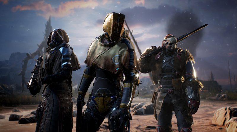 Soluce Outriders armes légendaires dans le jeu de Square Enix, pistolet-mitrailleur, fusil, fusil d'assaut, ... Pc, PS4, PS5, XBOX