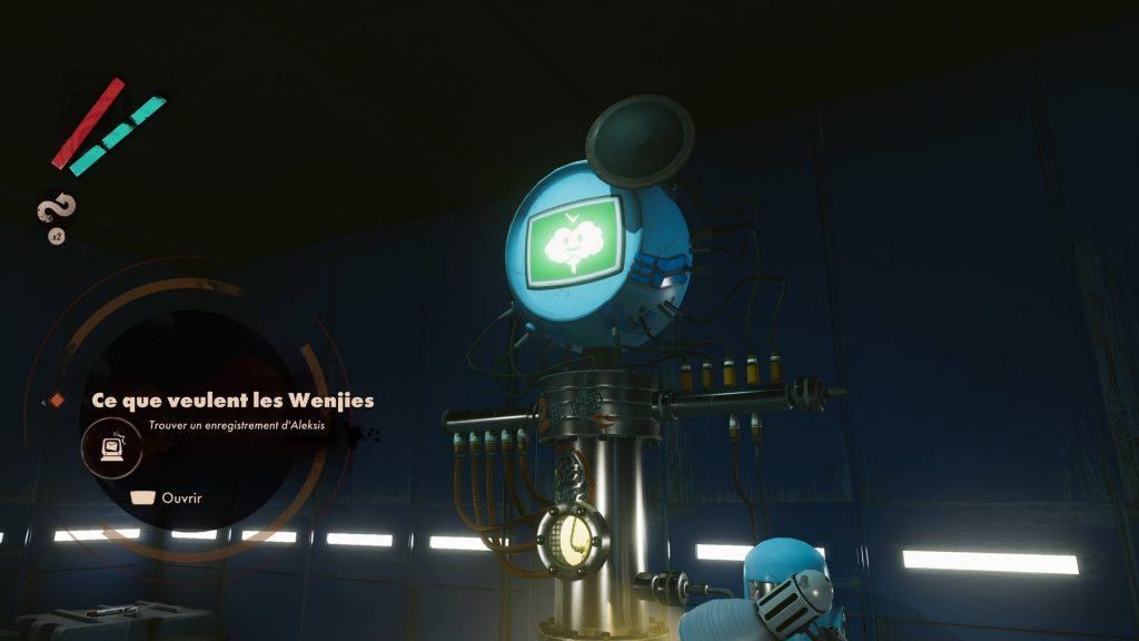 deathloop wenjie soluce solution comment tuer ce que veulent les wenjies xbox ps5 pc